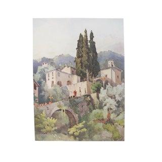 1905 Ella du Cane Print, Madonna Della Pace, Lago di Como