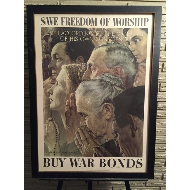 Four Freedoms Posters by Norman Rockwell - Image 3 of 6