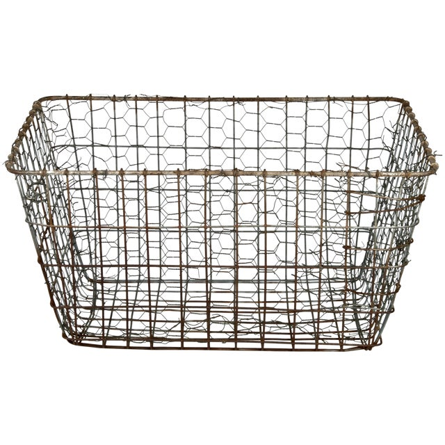 Vintage Wire Vegetable Drying Basket - Image 1 of 4