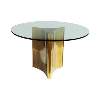 Mastercraft Brass 'Trilobi' Dining Table