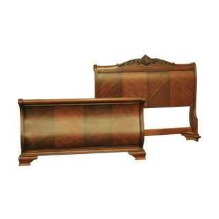 Tuscany Queen Sized Sleigh Bed Frame