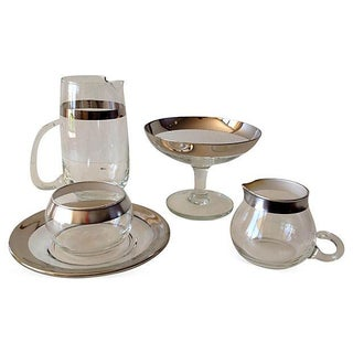 Dorothy Thorpe Assorted Service Ware - Set of 5