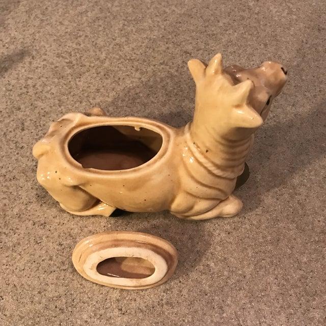 Vintage Ceramic Cow Cream & Sugar Set - Image 5 of 11