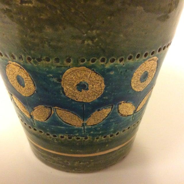 Mid Century 1960's Bitossi Ceramic Vase - Image 3 of 6