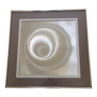 Framed Metallic Wall Art
