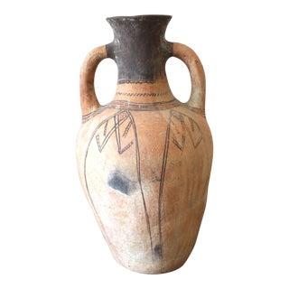 Vintage Moroccan Amphora Vessel