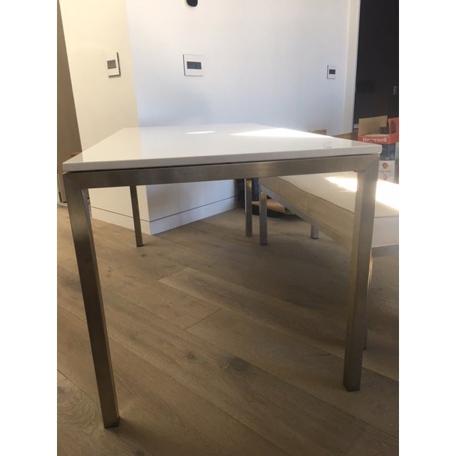 Room & Board Portico Table With Bench & Chairs - Set of 4 - Image 3 of 7