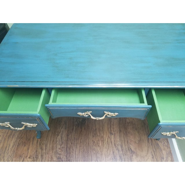 Hand Painted Desk/Vanity - Image 4 of 5