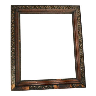 Antique Wood & Gesso Picture Frame