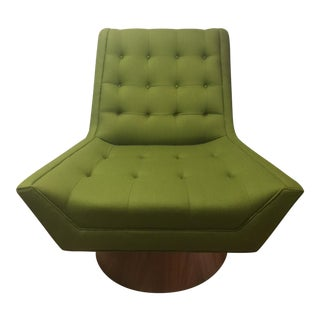 Jonathan Adler Green Whitaker Swivel Chair