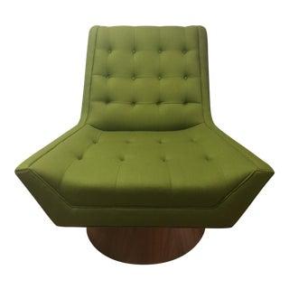 Jonathan Adler Green Whitaker Swivel Chair