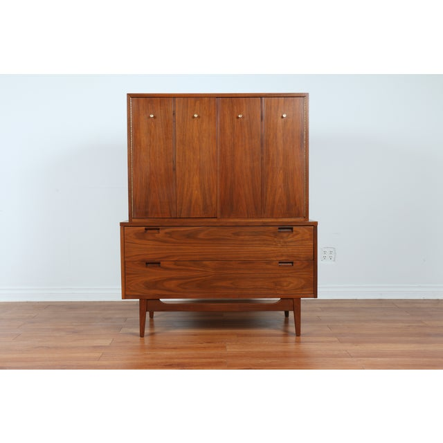 Highboy Dresser by American of Martinsville - Image 2 of 9