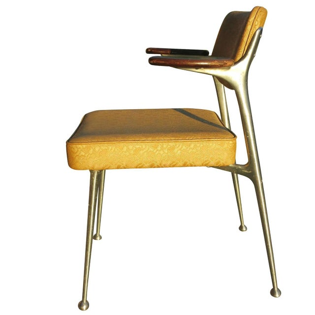Aluminum Gazelle Armchairs by Shelby Williams -S/4 - Image 5 of 10