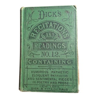 Dick's Recitations and Readings No. 12