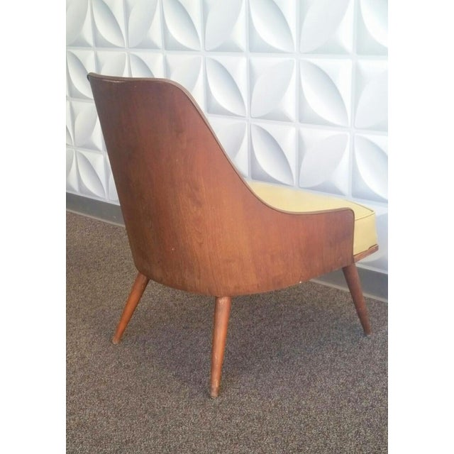 Image of Vintage Mid-Century Barrel Back Club Chair