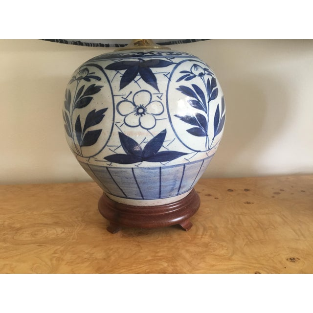 Chinoiserie Ginger Jar Lamps - A Pair - Image 3 of 8