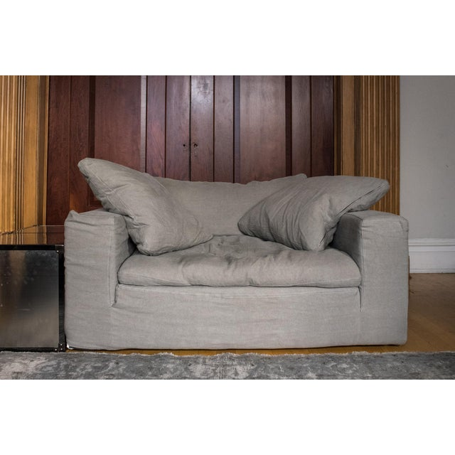 """New Restoration Hardware """"Cloud"""" Chair-And-A-Half - Image 2 of 5"""