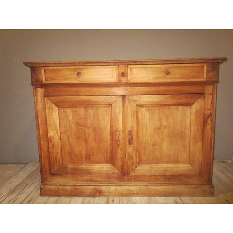 Image of Antique Louis Philippe Bleached Cherry Buffet