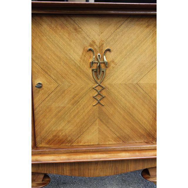 French Art Deco Rosewood sideboard / Credenza Circa 1940s - Image 6 of 10