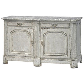 19th Century Neoclassic Style Buffet, Painted