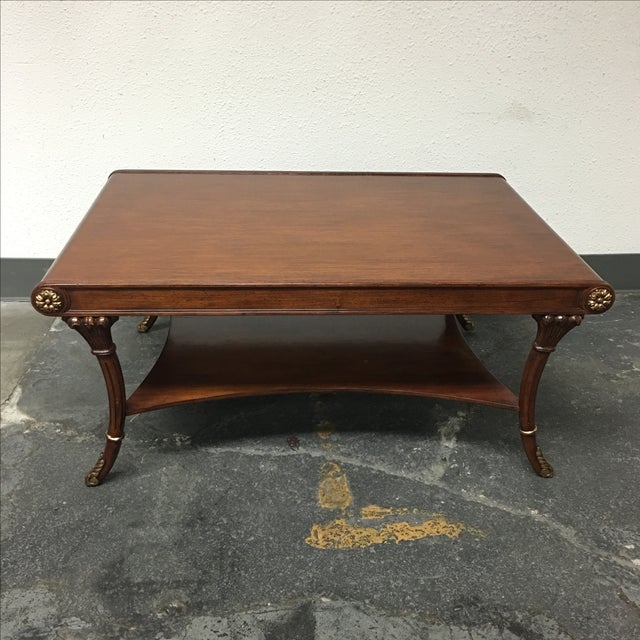 Regency Style Coffee Table - Image 2 of 7