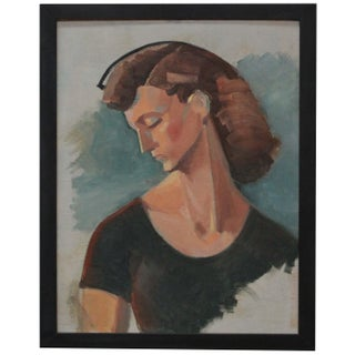 Original Painting of a Woman by Ruth Hilts