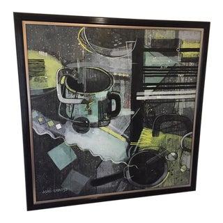 1993 Ashis Kabasi Contemporary Abstract Painting