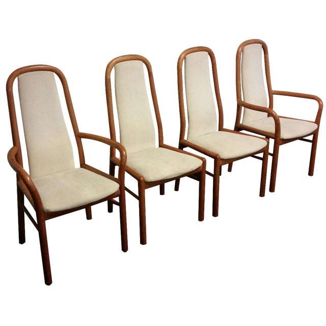 Boltinge Danish Modern Dining Chairs - Set of 4 - Image 1 of 8