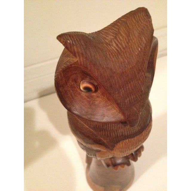Image of Wooden Owl/Hand Carved