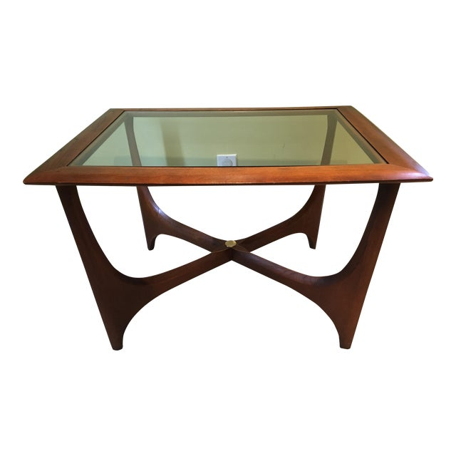 Lane Pearsall Style Mid Century Modern Coffee Table: Adrian Pearsall For Lane Furniture Walnut Coffee Table