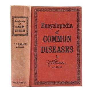 """Encyclopedia of Common Diseases"" 1970 Book"