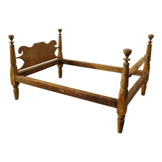 Early 1800s Twin Size Rope Bed