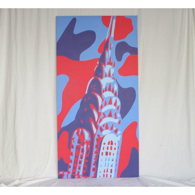 Monumental Acrylic of New York's Chrysler Building - Image 8 of 8