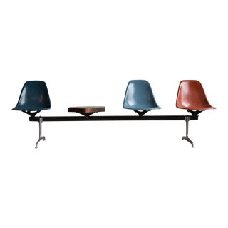 Custom Eames Airport Bench