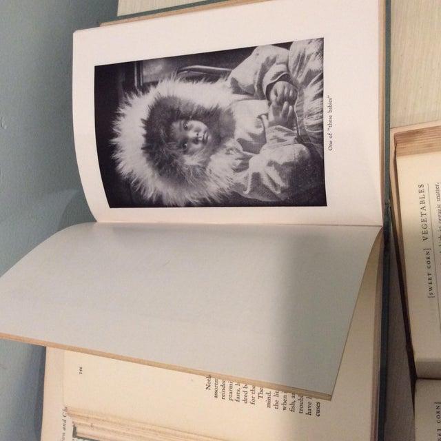 Vintage Green Book Stack - Set of 4 - Image 9 of 11