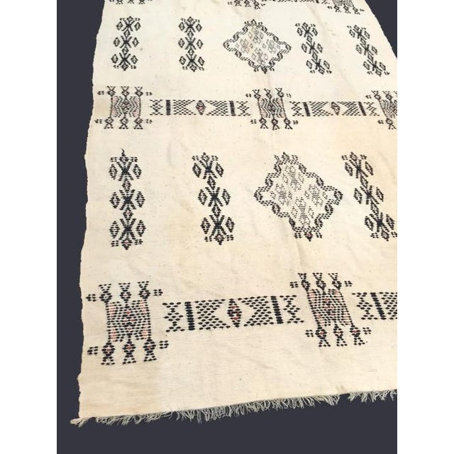 Vintage Native American Rare Blanket Hand Woven - Image 4 of 11