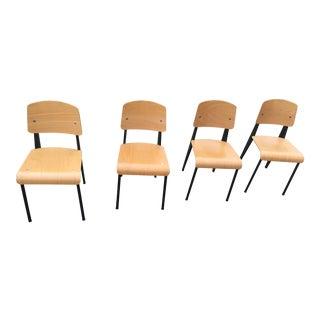 Jean Prouvé Standard Chairs - Set of 4