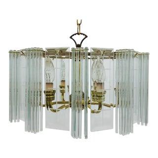 MCM Regency Style Glam Chandelier