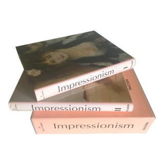 Impressionism Hardcover Art Books - A Pair