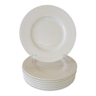 Villeroy & Boch 'White Pearl' Plates - Set of 9