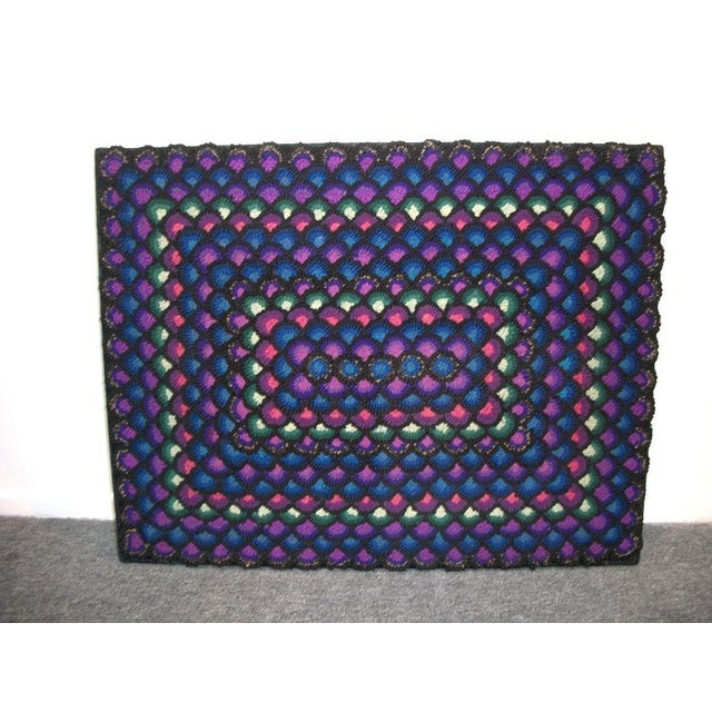 Image of 20th Century Pennsylvania Mennonite Geometric Rug