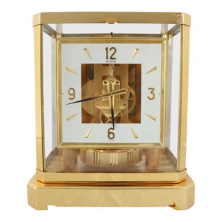 "Mid-20th Century, Jaeger-LeCoultre ""Atmos"" Classique Table Clock"