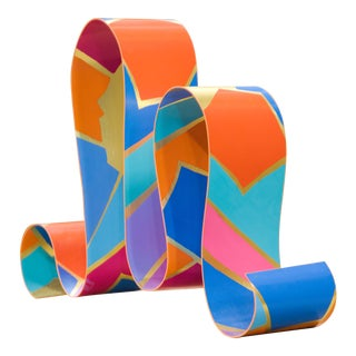 Dorothy Gillespie Ribbon Sculpture