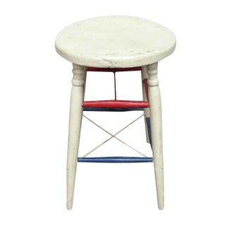 American Wooden Stool