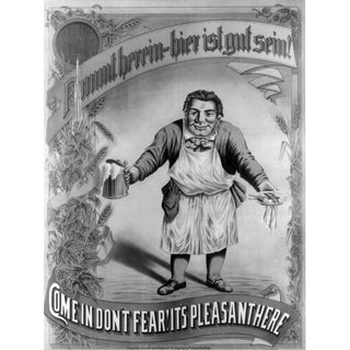 'Don't Fear' Beer Tavern Advertisement