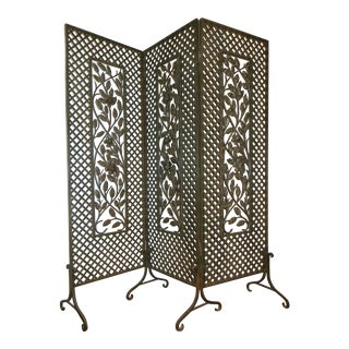 Antique French Deco Screen