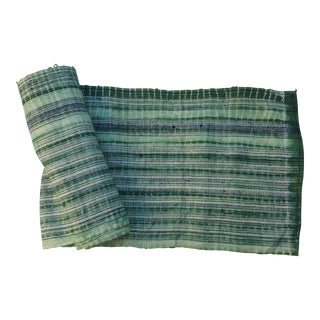 Green Batiked Textile Roll