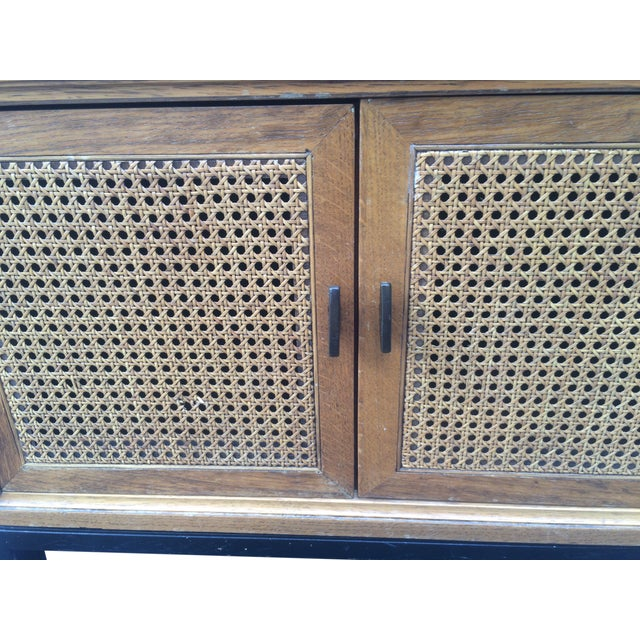 Vintage Paul McCobb-Style Cane Table - Image 4 of 7
