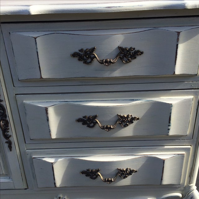 French Provincal Buffet Dresser - Image 6 of 8