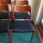 Image of Niels O. Moller Teak MCM Chairs Model 71 - S/8